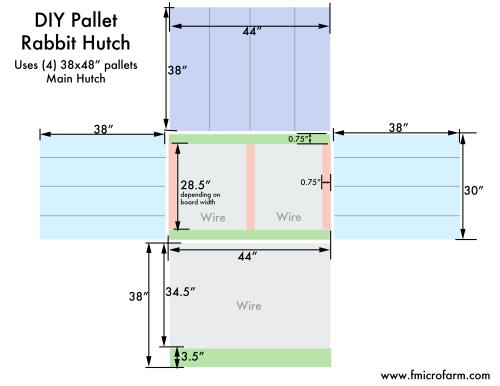 pallet hutch plans